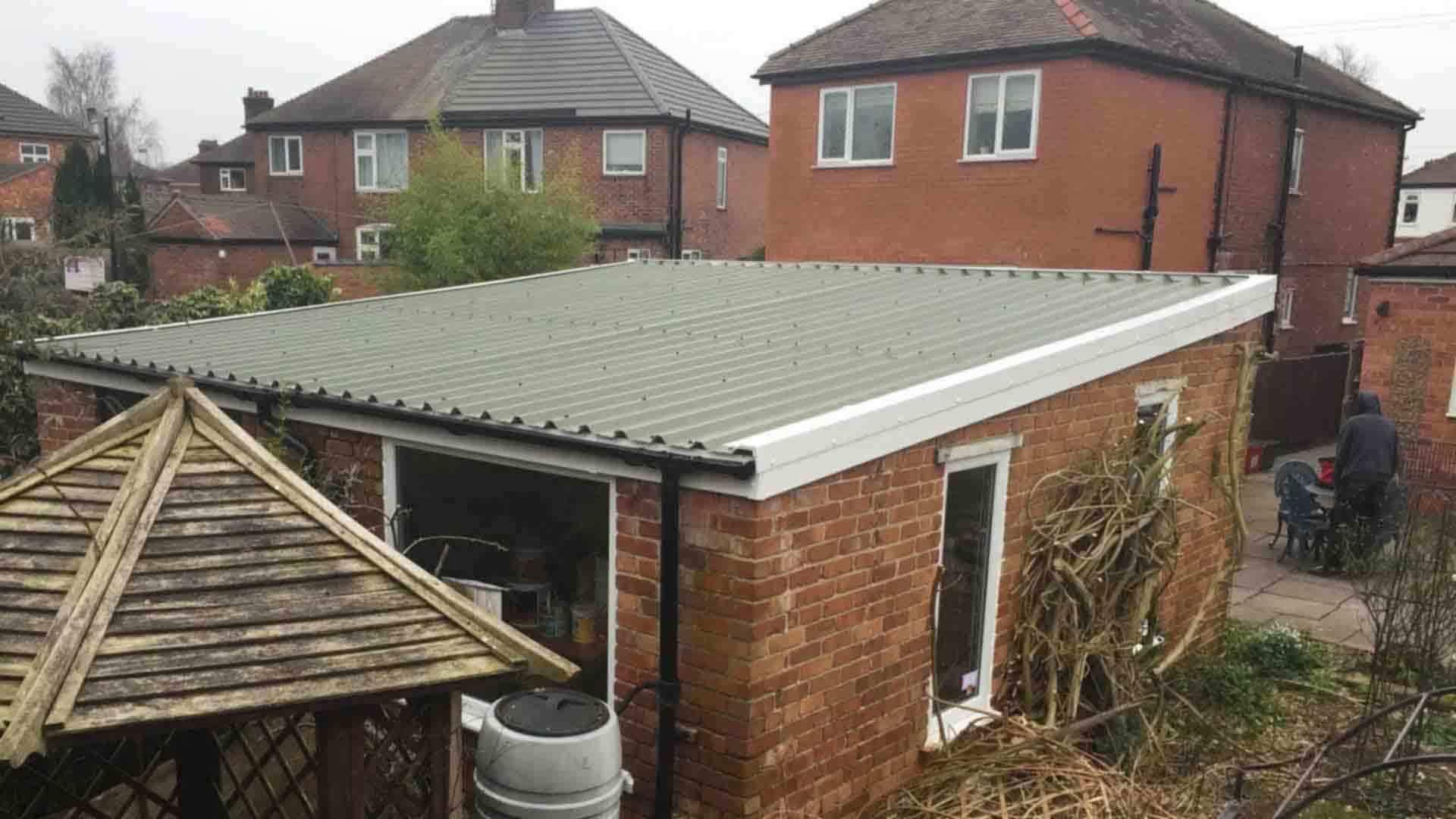 Asbestos-Garage-Roof-Replacement | Danmarque Garages