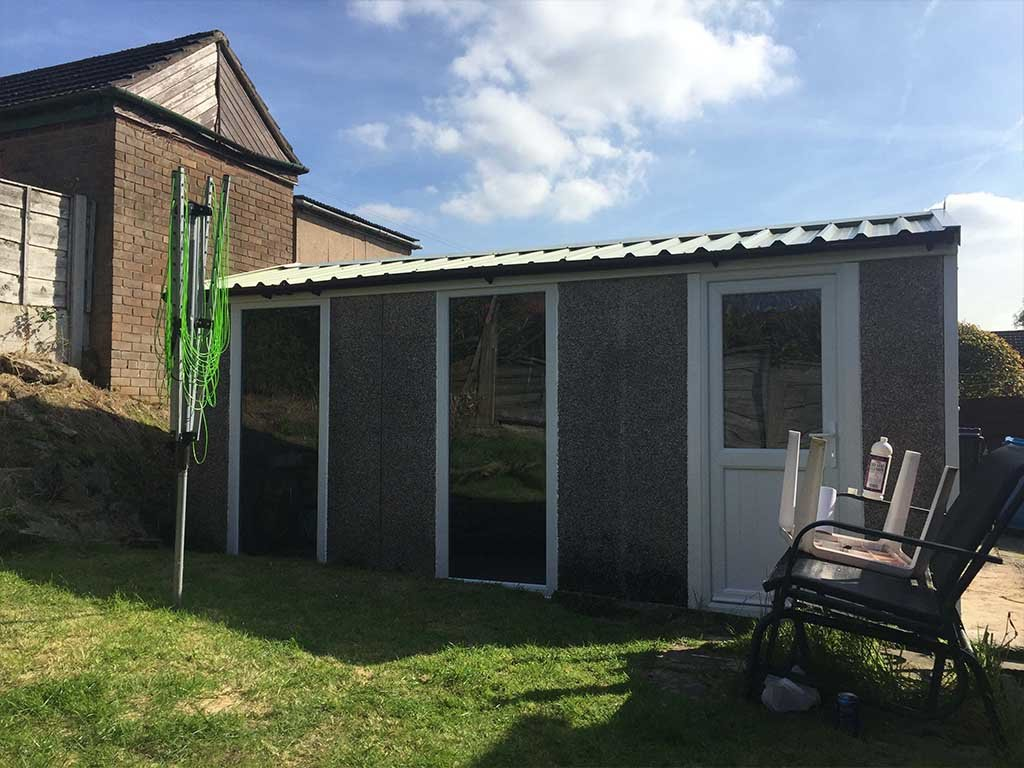 Garage Side Door & Garage Windows