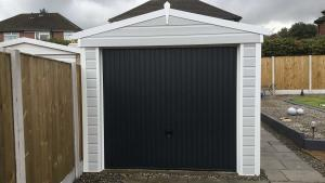 Black-Garage-Door