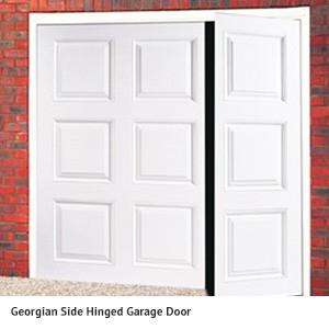 Georgian Hinged Garage Door