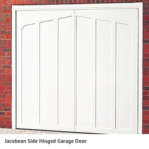 Jacobean Hinged Garage Door