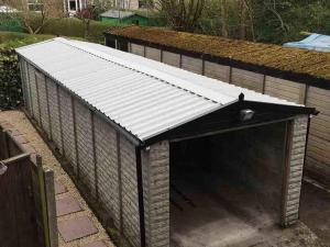 Asbestos-garage-roof-replacement