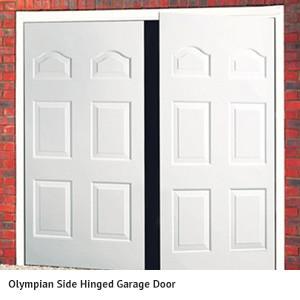 Olympian Hinged Garage Door