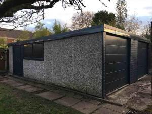 Double-Concrete-Garage