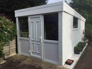 Garage to summer house conversion