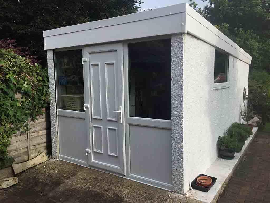 Garage Conversion to Side Door & Windows