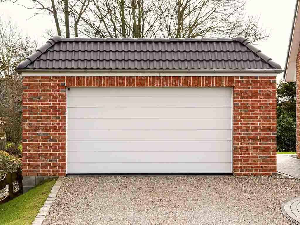 Roller Garage Door in White