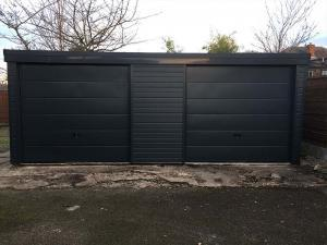 Black-Cladding-Garage-Doors