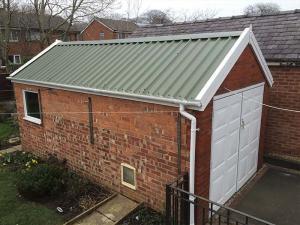 Brick Garage Refurbishment