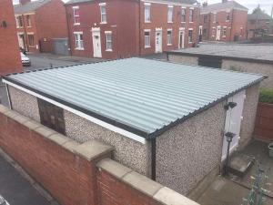Double-garage-Asbestos-Roof-Replacement