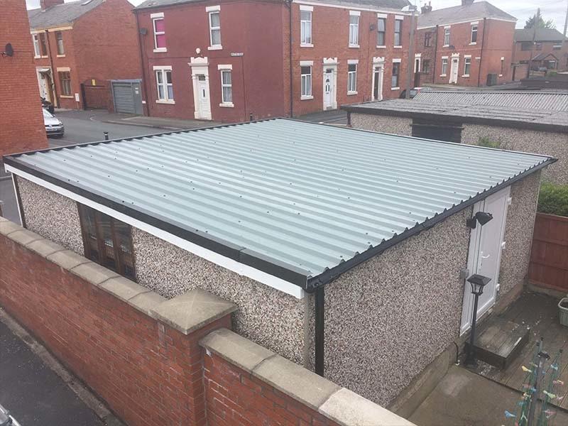 Asbestos Garage Roof Replacement Danmarque Garages