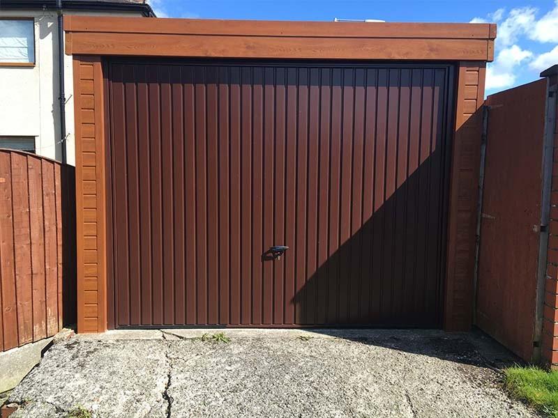 Light Oak Garage Refurbisment