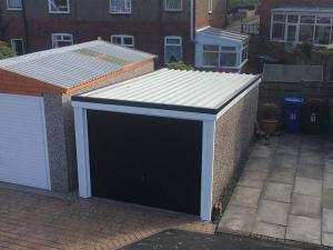 New Garage Roof in Black