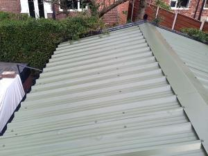 Moorland Green-Garage Roof