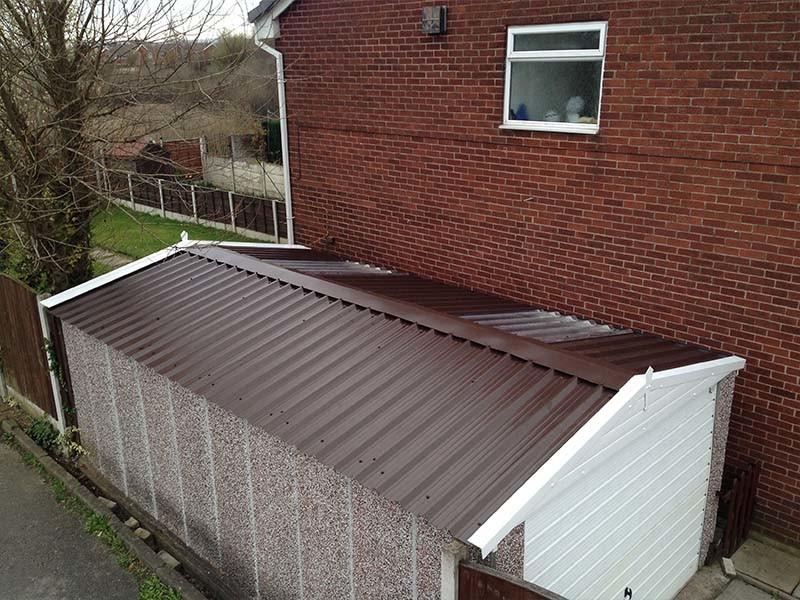Rosewood Garage Roof Panels