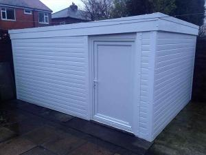 White-uPVC-Cladded-Garage