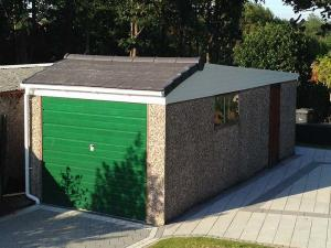 Concrete Garage Roof Conversion