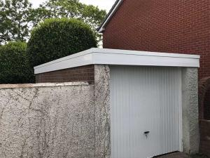 Felt Garage Roof Replacement