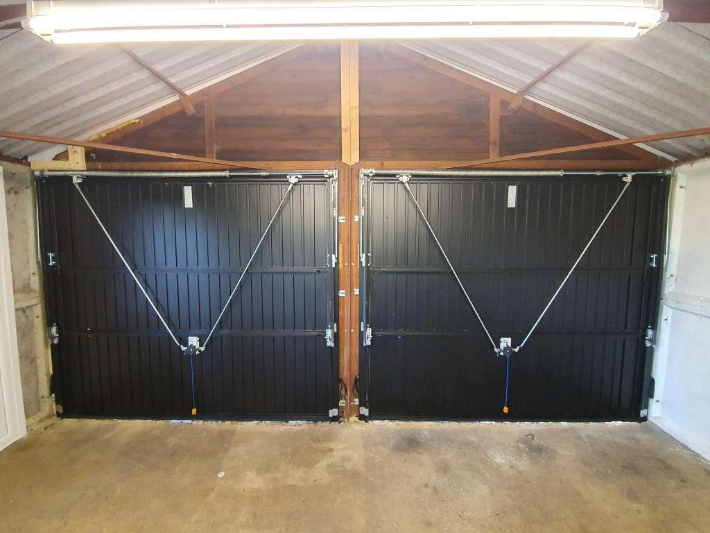 Up & Over Garage Door Canopy Gearing