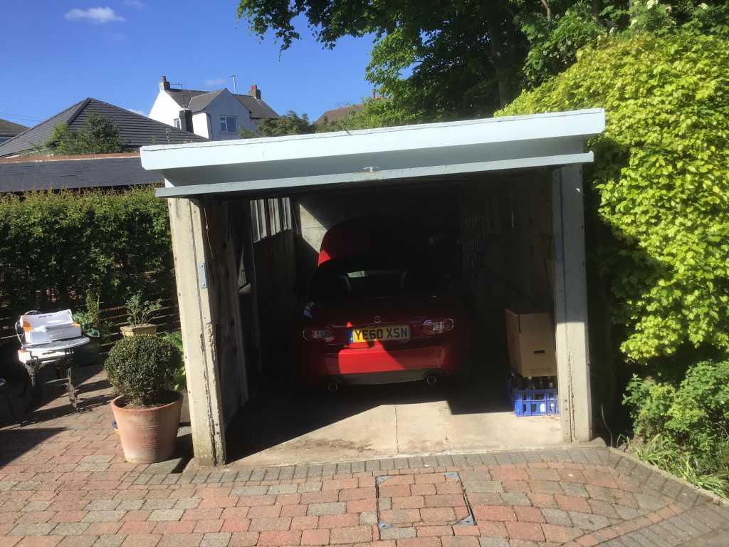 Parked Car Causing Condensation in Garage