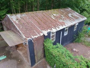 fixing a leaking garage roof