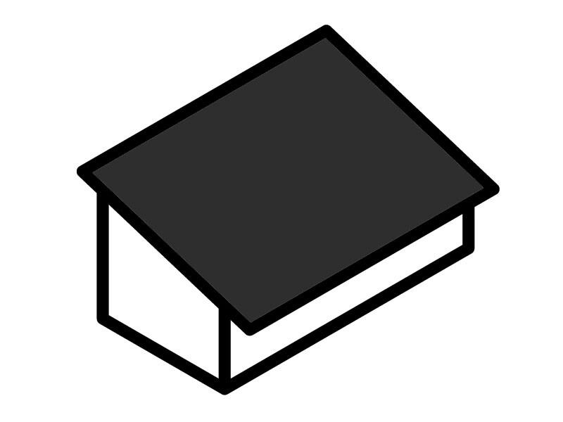 Garage Roof Type - Mono-Pitch