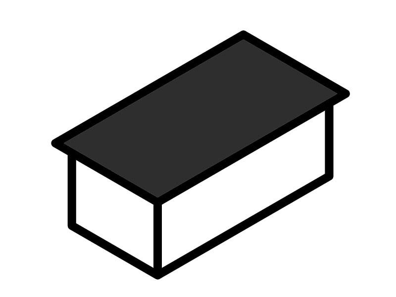Roof Type - Pent