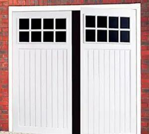 Side Hinged Bedford Garage Door