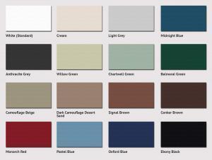 Side Hinged Garage Door Colour Options