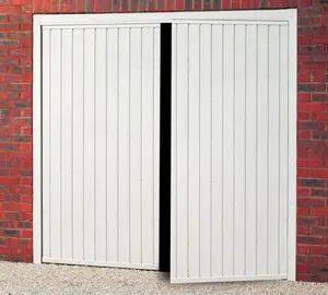 Side Hinged Gemini Garage Door