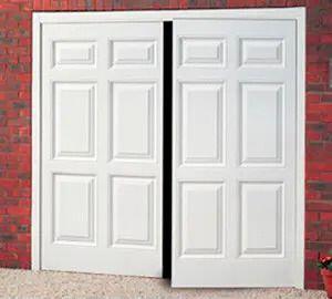 Side Hinged Sheraton Garage Door