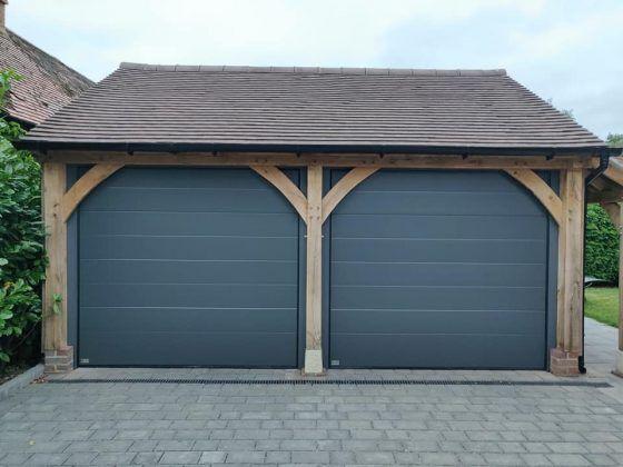 Anthracite Grey Roller Garage Door