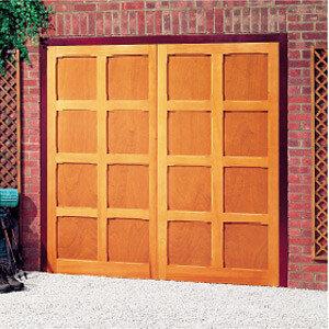 Timber Garage Door Material